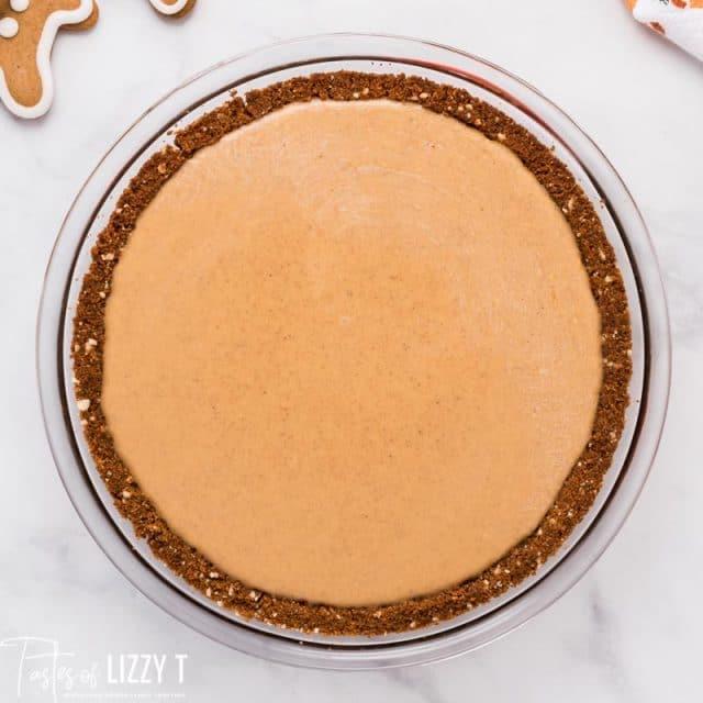 unbaked squash pie