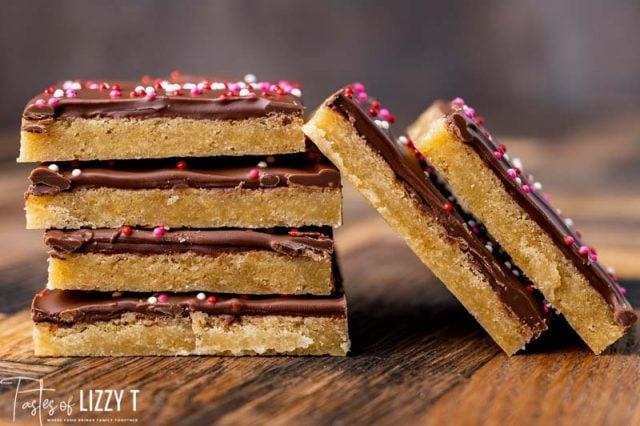 hershey brown sugar shortbread bars