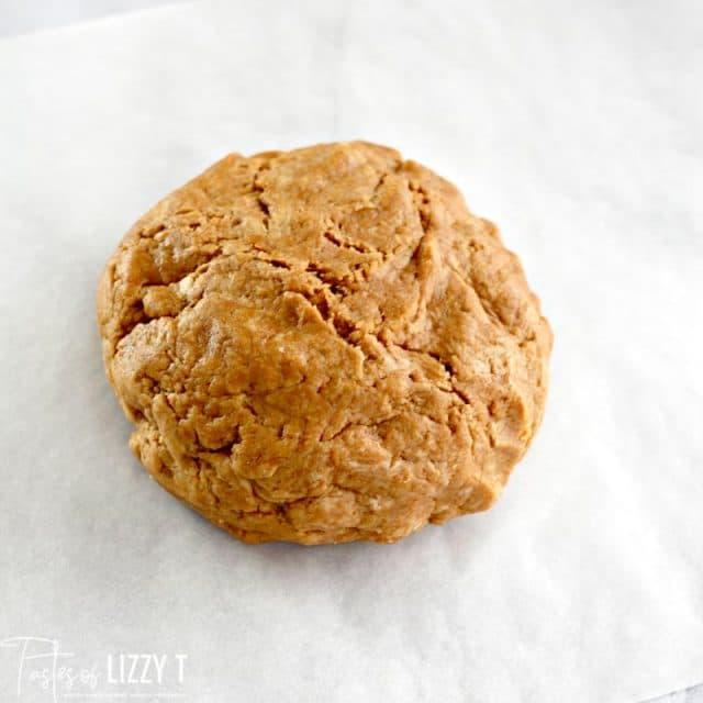 dog biscuit dough