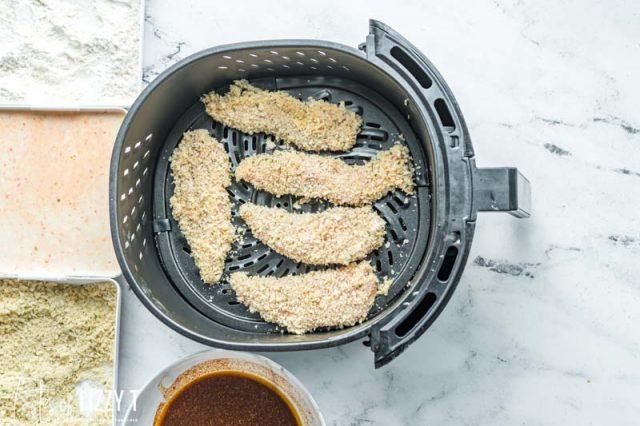 uncooked air fryer chicken tenders