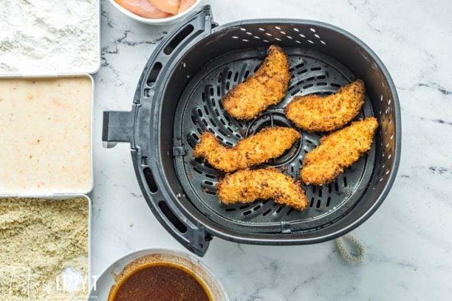 chicken tenders in the air fryer