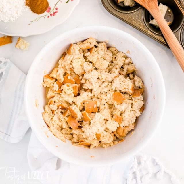 bread mixture for french toast muffins