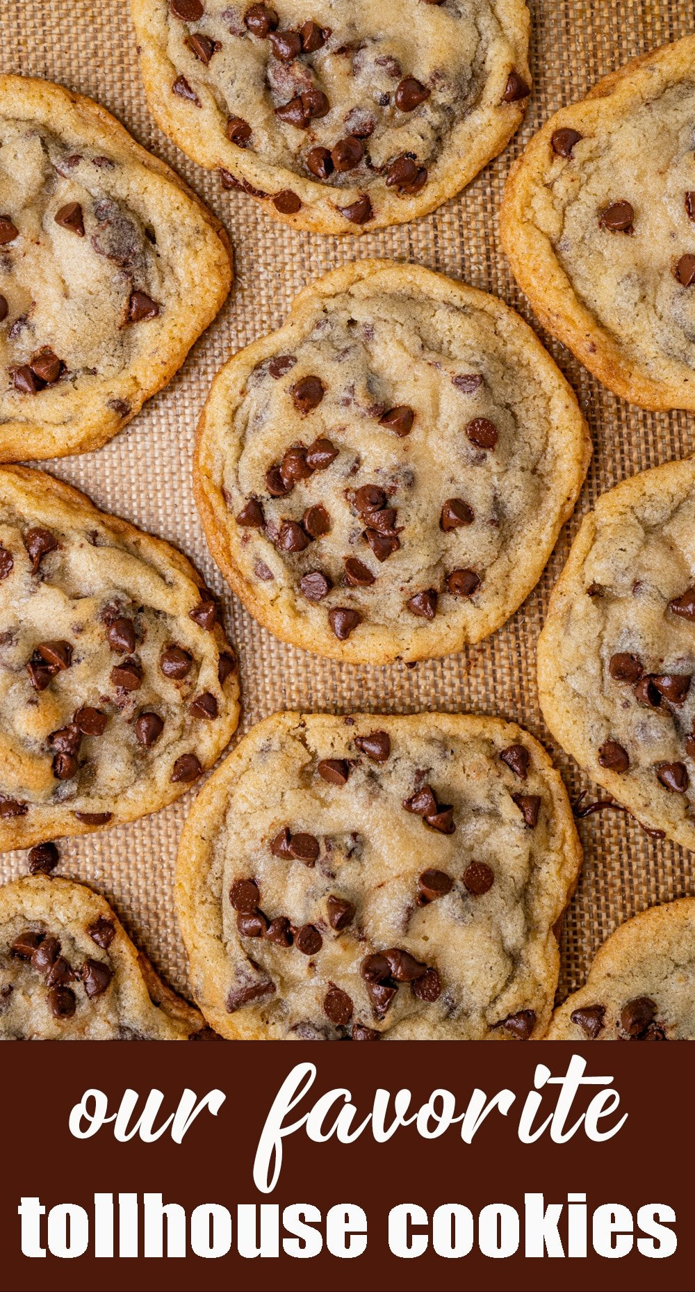 This is our favorite version of the classic Toll House Cookie recipe. Chewy centers with thin, crispy edges. Chocolate chips in every bite! via @tastesoflizzyt