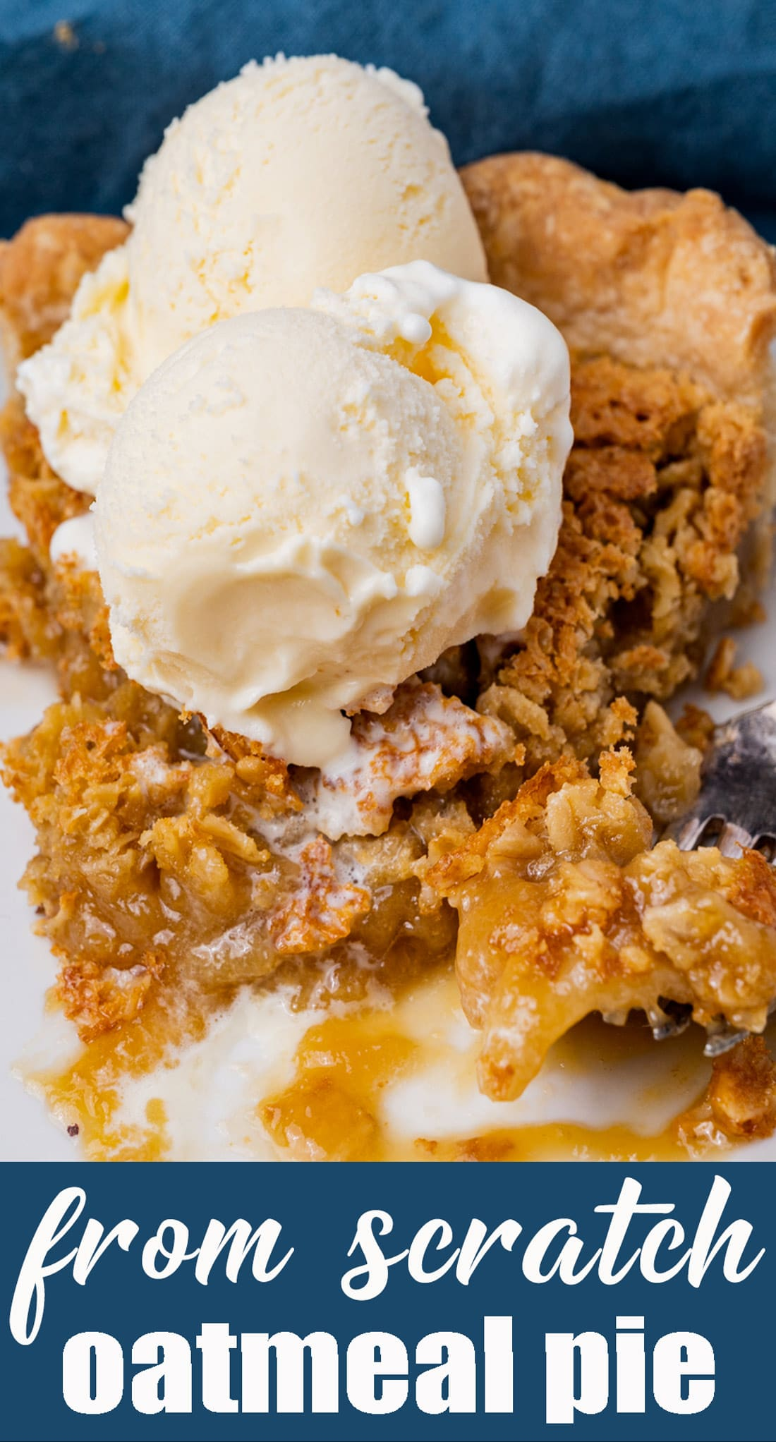 Comforting Amish Oatmeal Pie that tastes remarkably like pecan pie. Brown sugar gives a deep, rich flavor to this sweet, simple pie that is a favorite Amish country recipe. via @tastesoflizzyt
