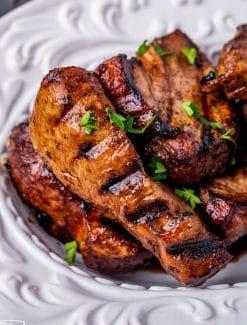 easy rib marinade on boneless pork ribs