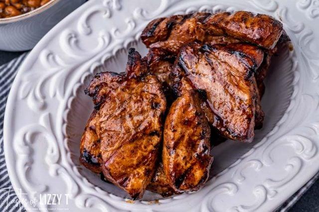 3 ingredient grilled pork ribs