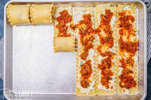 how to make lasagna rollups