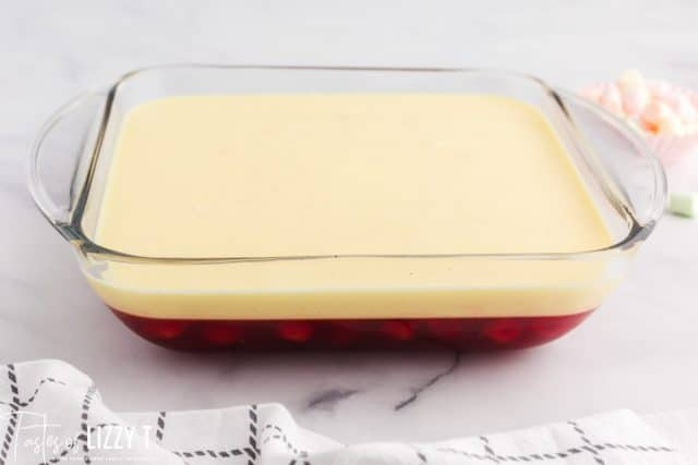making layered jello salad